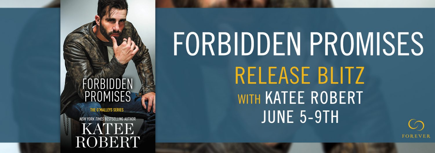 Release Blitz, Review, Author Top 5, Teasers & Giveaway: Forbidden Promises (The O'Malleys #4) by Katee Robert