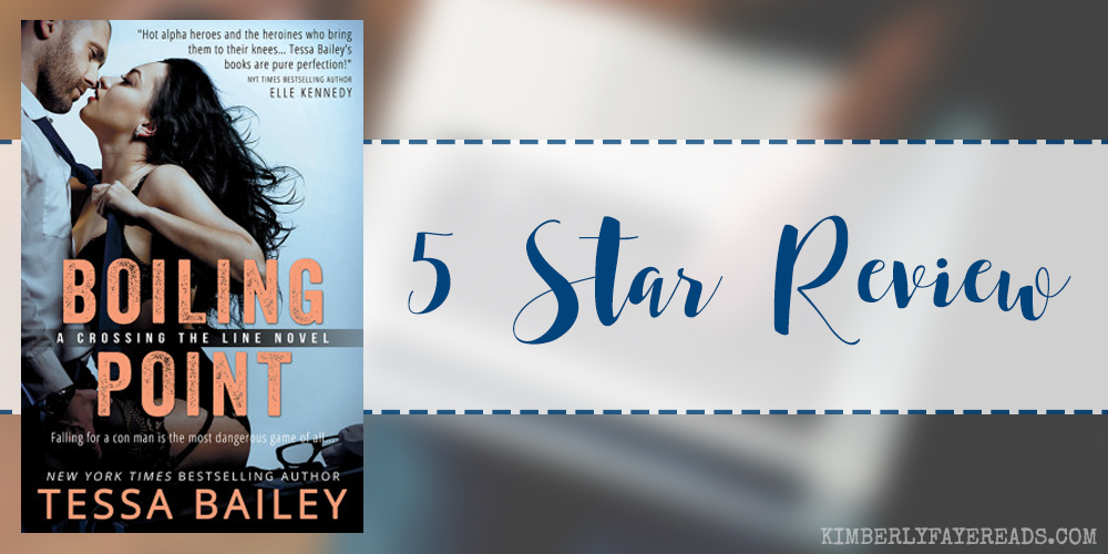 In Review: Boiling Point (Crossing the Line #3) by Tessa Bailey