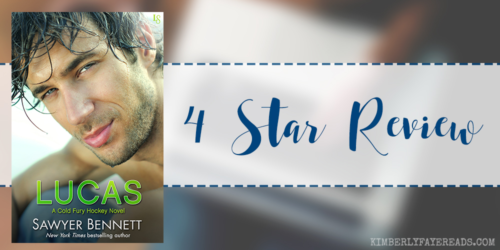 In Review: Lucas (Cold Fury Hockey #8) by Sawyer Bennett
