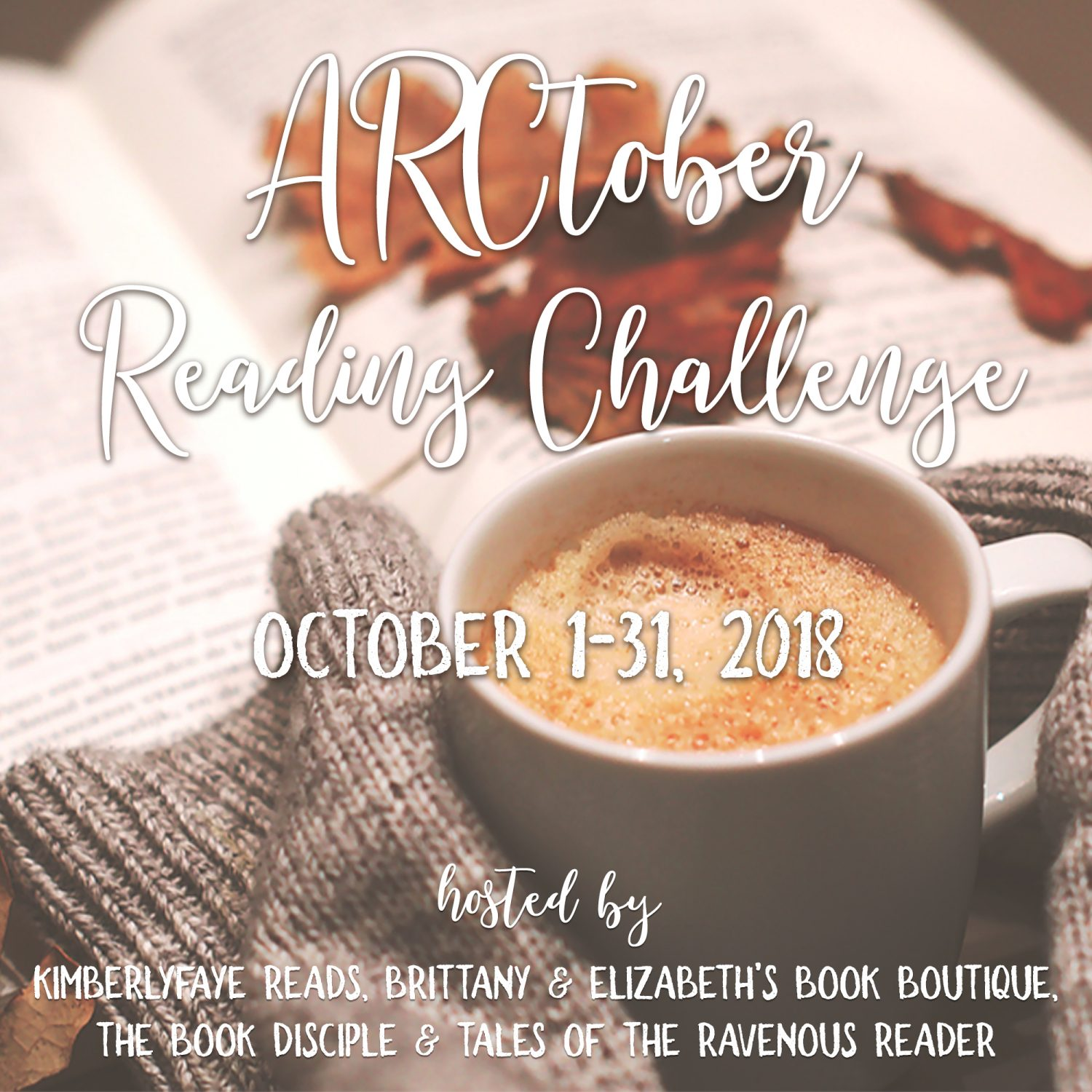 2018 ARCtober Reading Challenge: Goals and Books