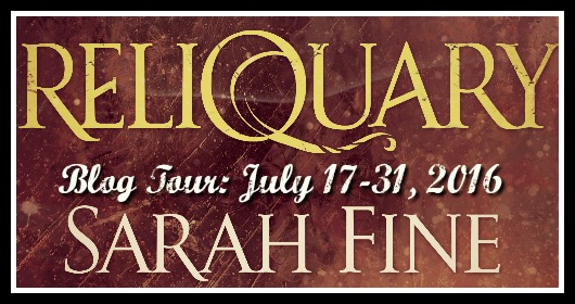 Blog Tour, Review & Giveaway: Reliquary (Reliquary #1) by Sarah Fine
