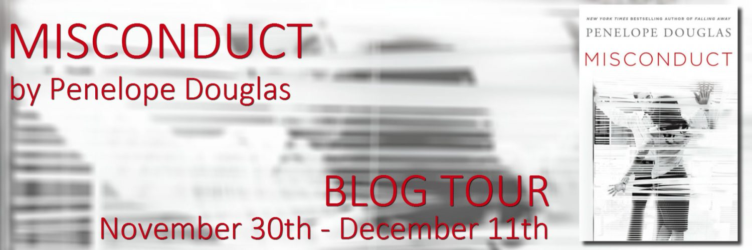 Blog Tour, Teasers, Review, Excerpt & Giveaway: Misconduct by Penelope Douglas