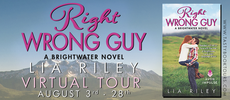 Blog Tour, Review, Excerpt & Giveaway: Right Wrong Guy (Brightwater #2) by Lia Riley