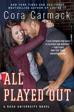Blog Tour, Review, Excerpt & Giveaway: All Played Out (Rusk University #3) by Cora Carmack