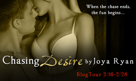 Blog Tour, Review & Giveaway: Chasing Desire (Chasing Love #3) by Joya Ryan