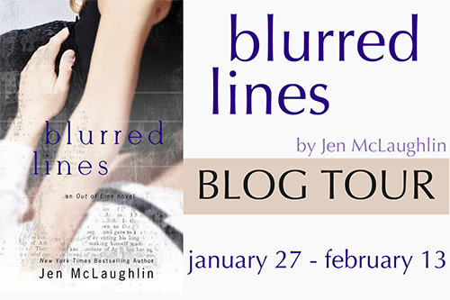 Blog Tour, Review & Giveaway: Blurred Lines (Out of Line #5) by Jen McLaughlin