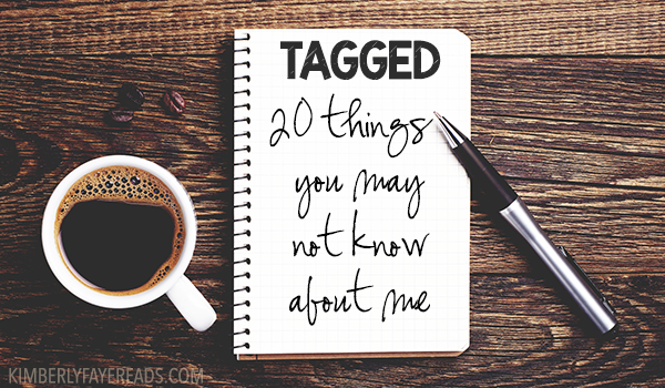 Tagged: 20 Things You May Not Know About Me