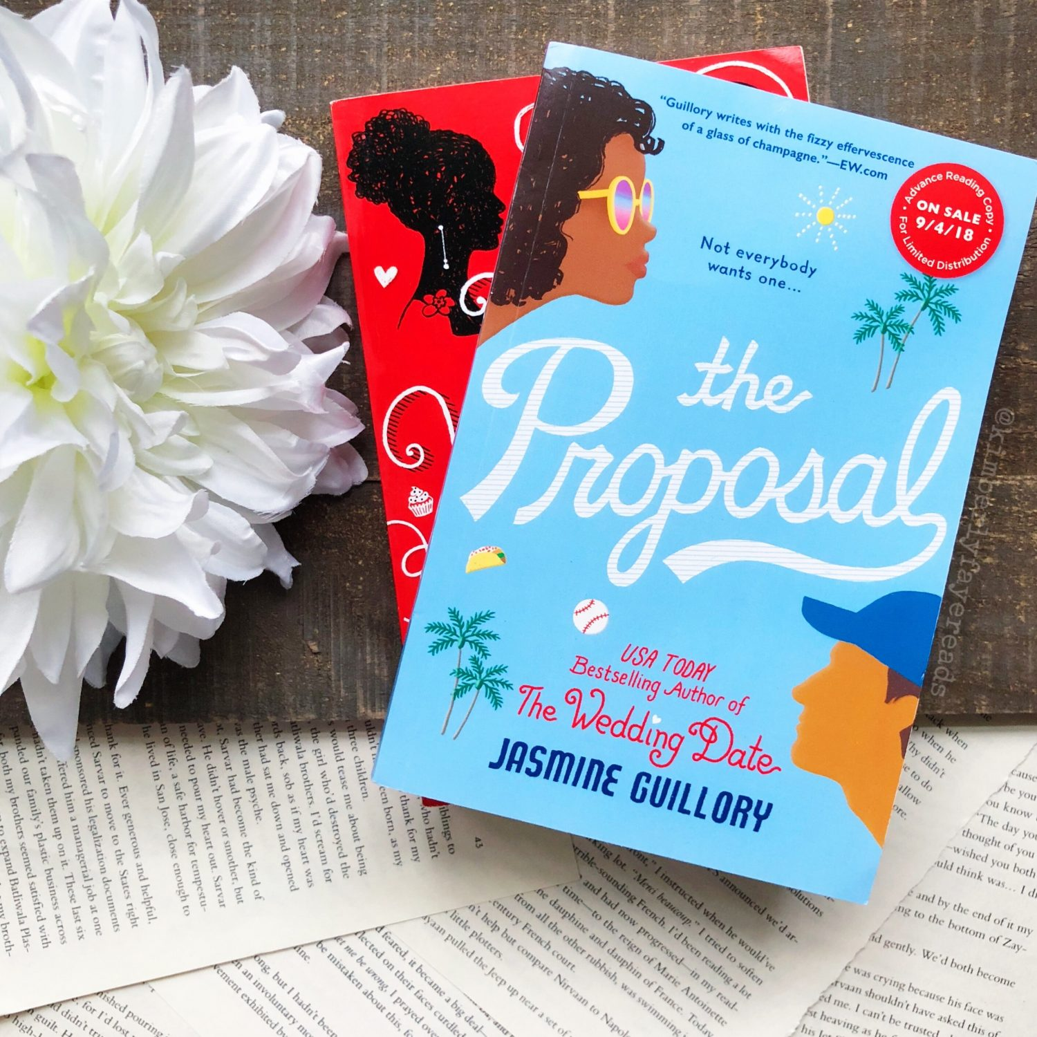 In Review: The Proposal (The Wedding Date #2) by Jasmine Guillory