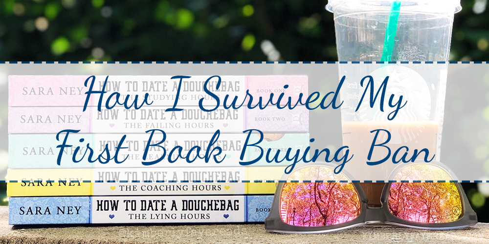 How I Survived My First Book Buying Ban