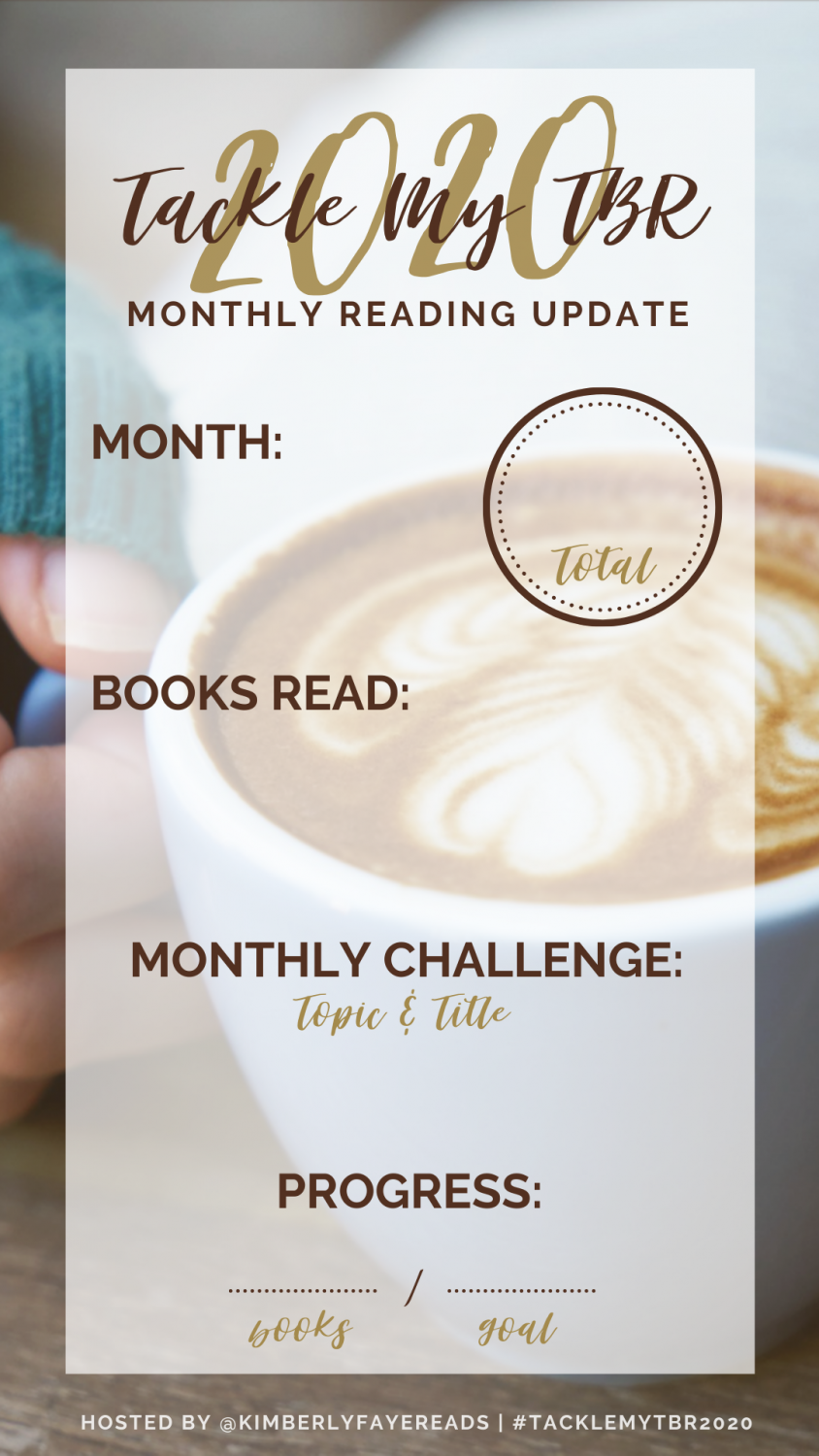 2020 Tackle My TBR Monthly Update