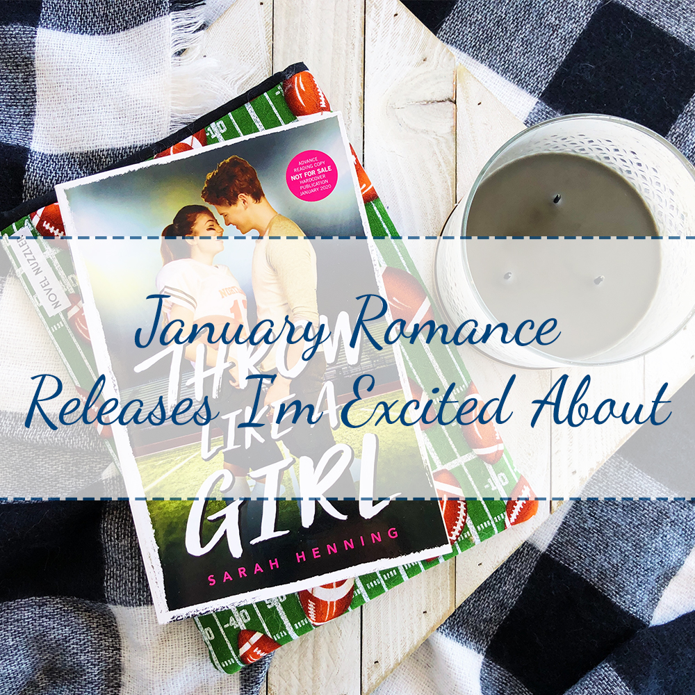 January Romance Releases I'm Excited About