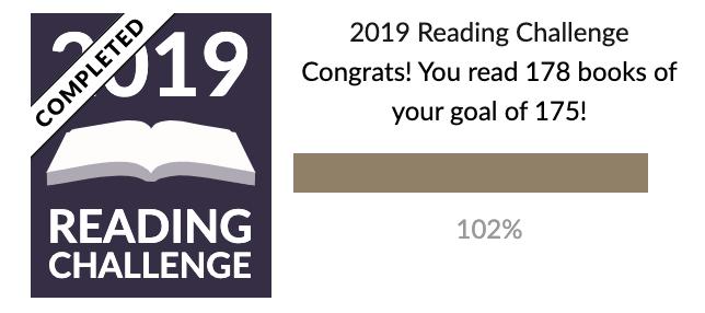 Goodreads Challenge Dec19