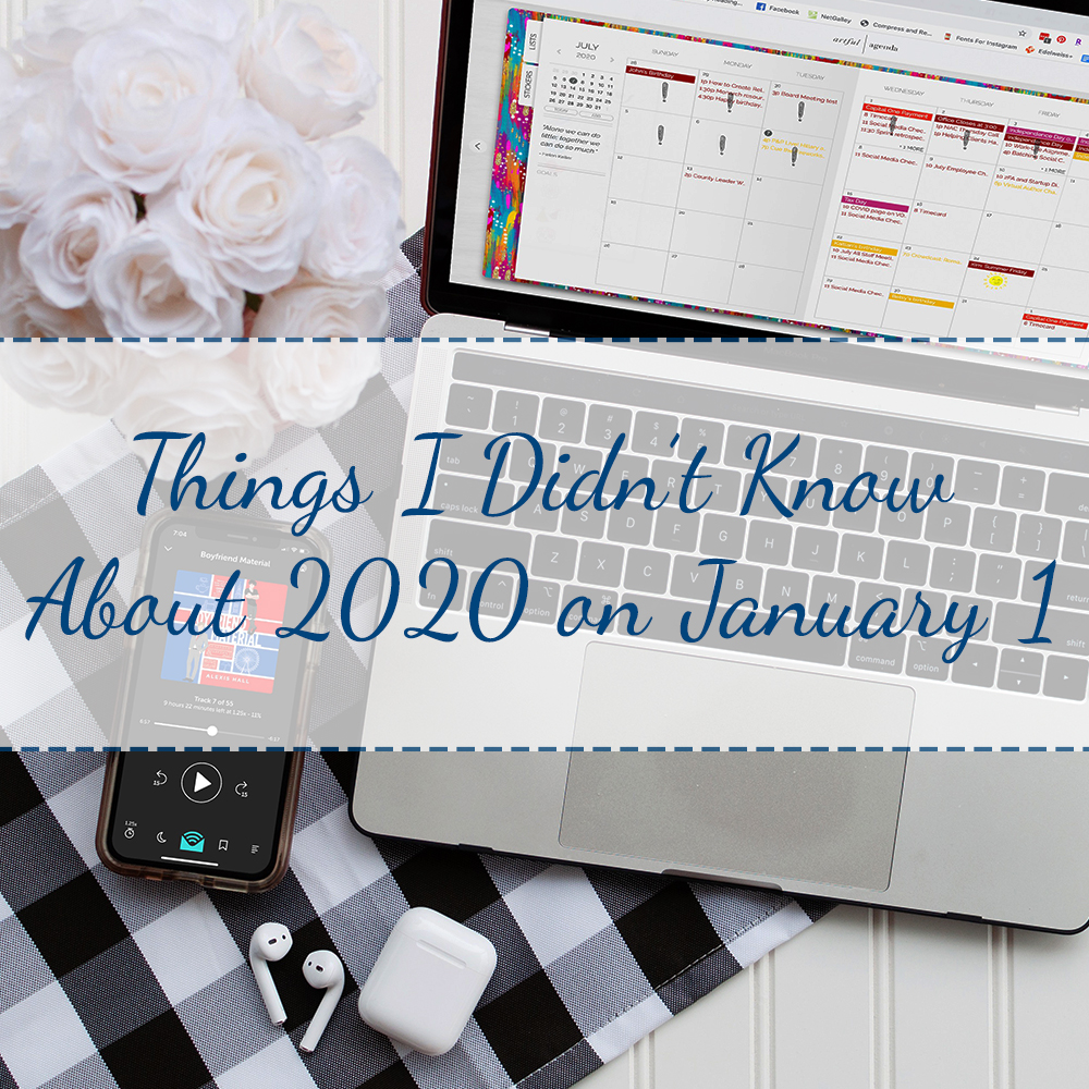 Things I Didn't Know About 2020 on January 1